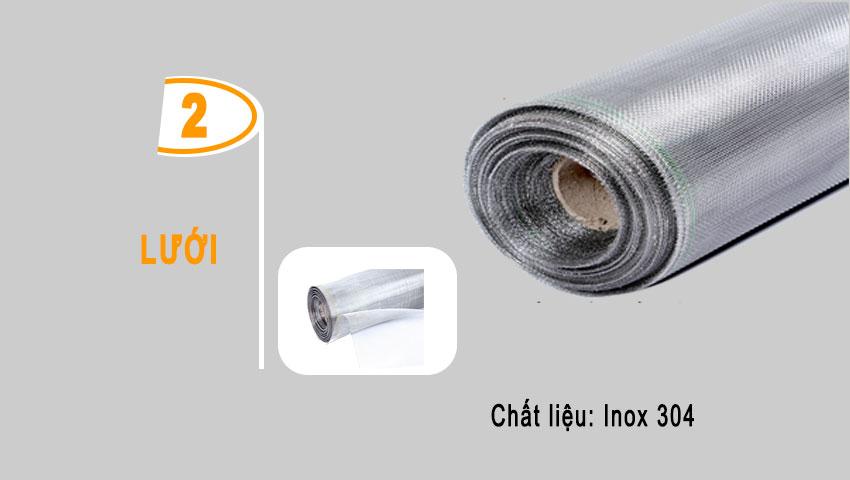 Lưới inox 304 mang đến sự thẩm mỹ và chất lượng không thể bàn cãi