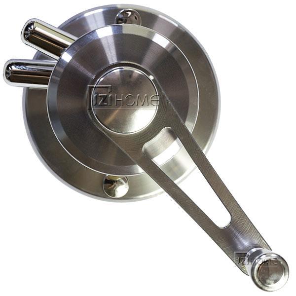 Bộ tời quay GZ241 được cấu tạo từ inox không gỉ, giúp sản phẩm luôn bền đẹp theo thời gian
