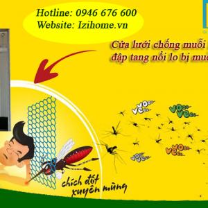 Cửa lưới chống muỗi izihome